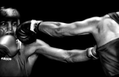 El silenci de la boxa: Nigel Travis. Fuji Euro Press Photo Awards 2004