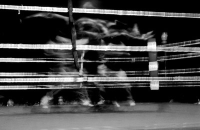 El silenci de la boxa: Ring Novice. Fuji Euro Press Photo Awards 2004