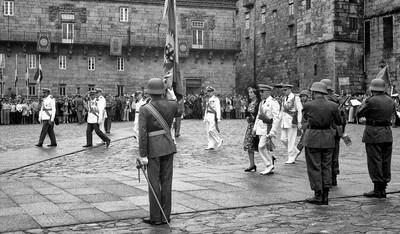 Francisco Franco a Santiago de Compostel·la