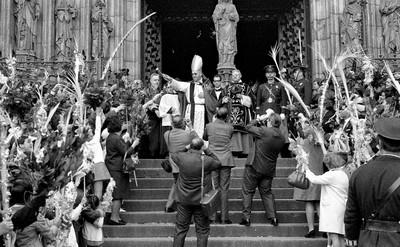 Diumenge de Rams. Arquebisbe Marcelo González Martín