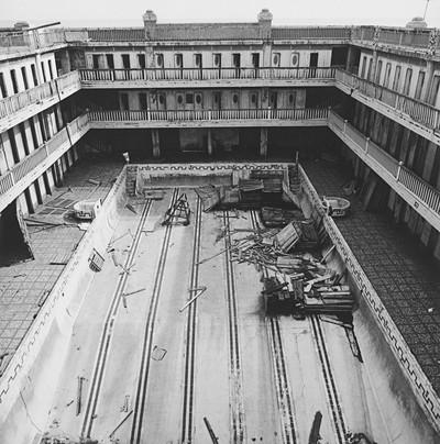 Banys de Sant Sebastià, 4. Barcelona, octubre de 1982