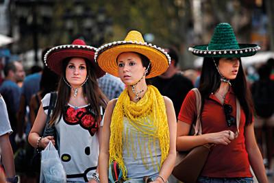 Tourist Walk (La Rambla de Barcelona)