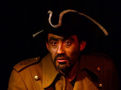Mauricio Riobo, actor y titiritero