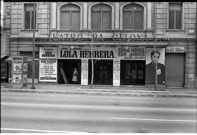 Teatro de Barcelona, Rambla de Catalunya