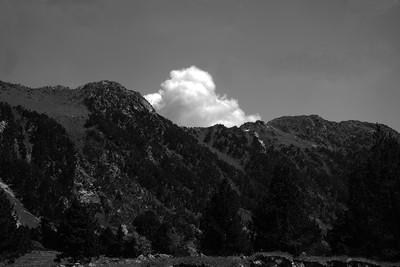 Nube blanca (Serie Landscapes)