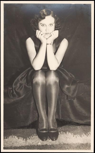 Fotografia publicitària de mitges de dona