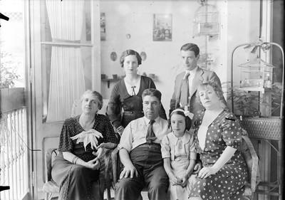 Retrat de la família Castells