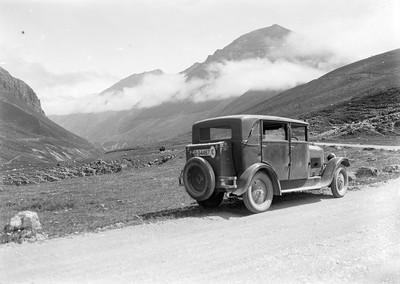 Automòbil del fotògraf Ramon Claret.