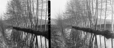 Paisatge de la canalització de les aigües del Ter al camp de Torelló