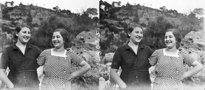 Retrat de dues dones a Jorba