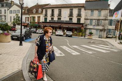 Escena cotidiana en Salies-de-Béarn