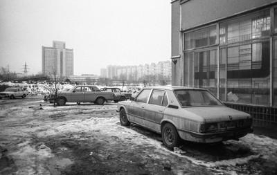 Aparcamiento. Moscú