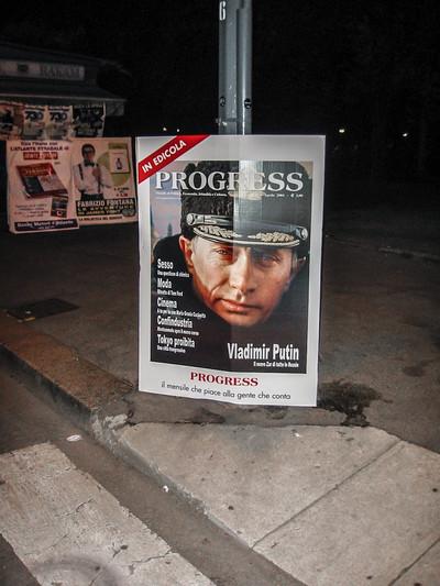 Vladimir Putin. Milán