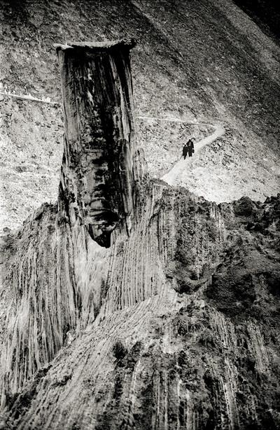 Muntanya de sal. Premi Negtor 1970, millor fotografia de l'any